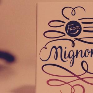 Fazerのイースターエッグ、Mignon(ミグノン)を食べてみた